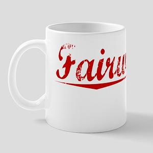 Fairweather, Vintage Red Mug
