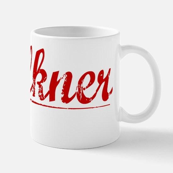 Faulkner, Vintage Red Mug