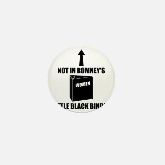 Romneys Little Black Binder of Women Mini Button