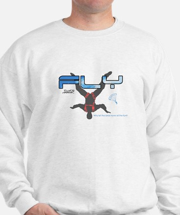 Fly Freefly Skydiving Sweater