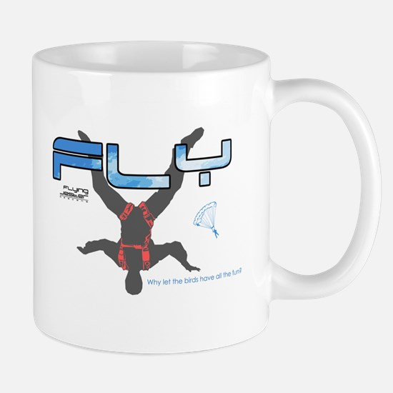 Fly Freefly Skydiving Mug