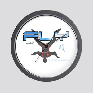 Fly Freefly Skydiving Wall Clock