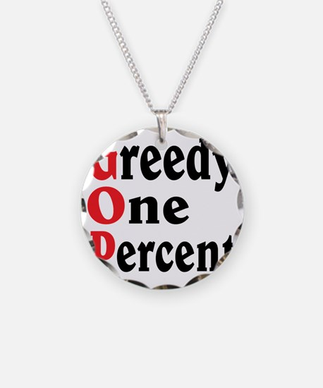 GOP Necklace Circle Charm