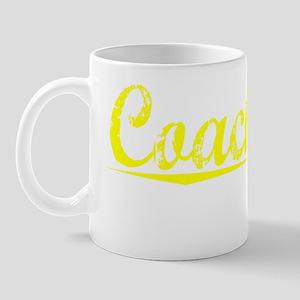 Coachman, Yellow Mug