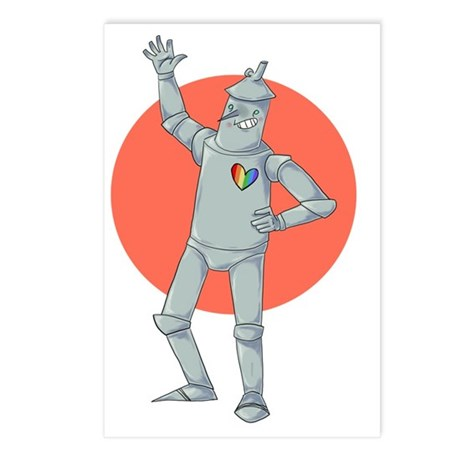 Tin Man Podcast Official Postcards (Package of 8)