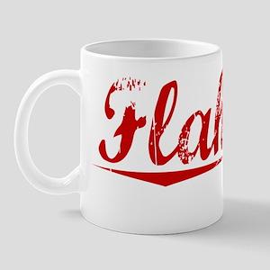 Flaherty, Vintage Red Mug