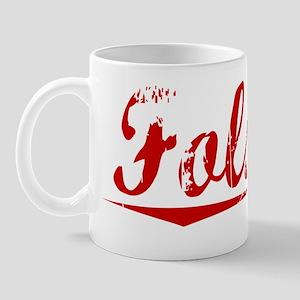 Folsom, Vintage Red Mug