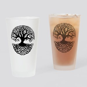 Tree of Life Drinking Glass