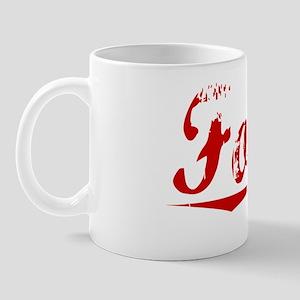 Folger, Vintage Red Mug