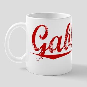 Gabbard, Vintage Red Mug