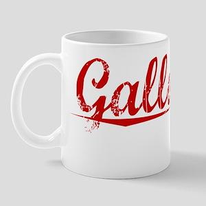 Galloway, Vintage Red Mug