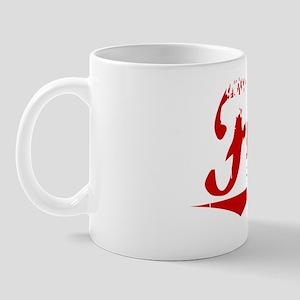 Funk, Vintage Red Mug