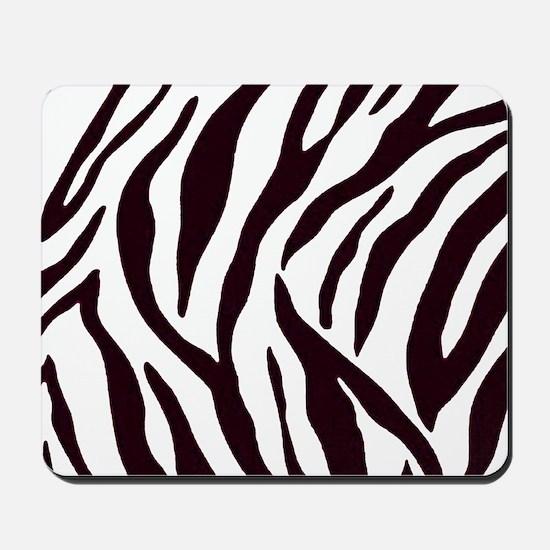 Zebra Stripes Mousepad