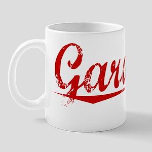 Gardiner, Vintage Red Mug