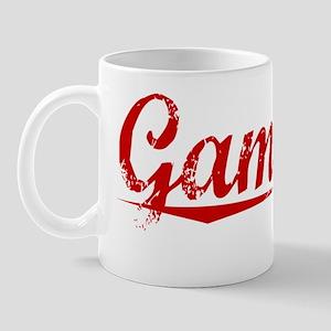 Gamache, Vintage Red Mug