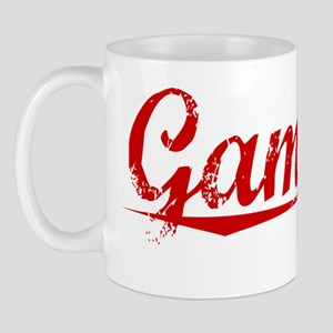 Gammon, Vintage Red Mug