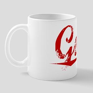 Gooch, Vintage Red Mug