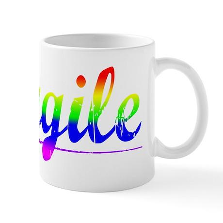 Cargile, Rainbow, Mug