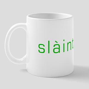 Slainte green Mug