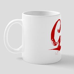 Goree, Vintage Red Mug