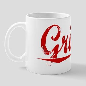 Griffie, Vintage Red Mug