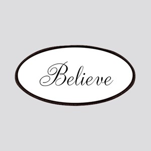 Believe Inspirational Word Patches