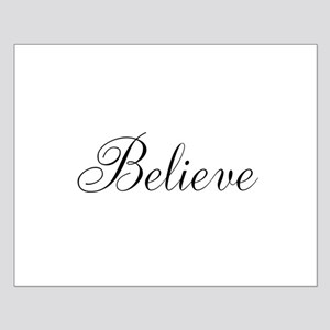 Believe Inspirational Word Posters