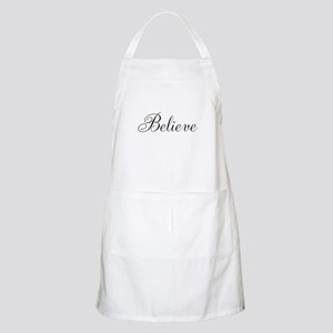 Believe Inspirational Word Apron