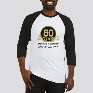 50th Anniversary Personalized Baseball Jersey