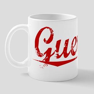 Guerrier, Vintage Red Mug