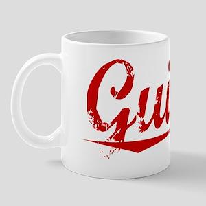 Guillen, Vintage Red Mug