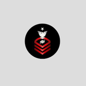 Navy Senior Chief Boiler Technician Mini Button