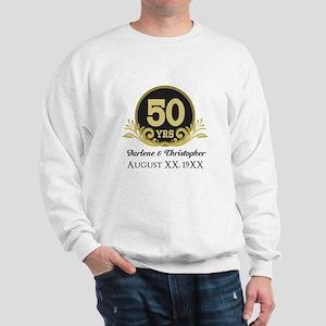 50th Anniversary Personalized Sweatshirt