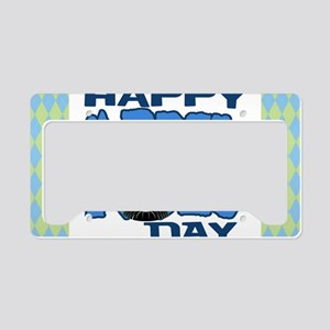 Happy April Fools Day License Plate Holder