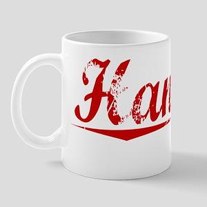 Hanover, Vintage Red Mug