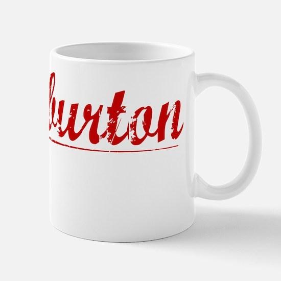 Halliburton, Vintage Red Mug