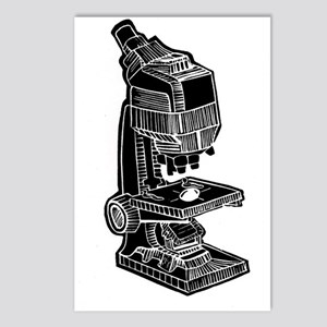 Vintage Microscope Postcards (Package of 8)