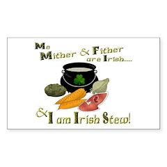 Irish Stew! Rectangle Decal