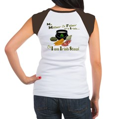 Irish Stew! (design on back) Women's Cap Sleeve T-