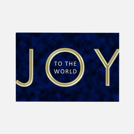 Joy To The World Rectangle Magnet