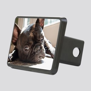 frenchie Rectangular Hitch Cover