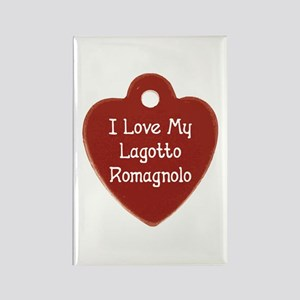Love My Lagotto Rectangle Magnet