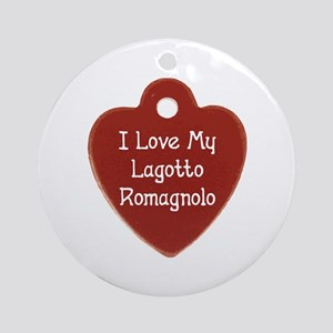 Love My Lagotto Ornament (Round)