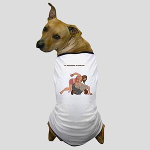 MMA Girlfriend Dog T-Shirt