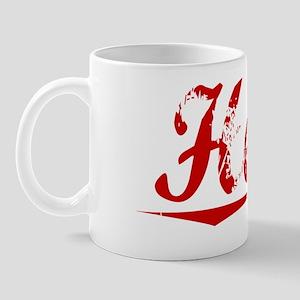 Hertz, Vintage Red Mug