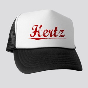 Hertz, Vintage Red Trucker Hat