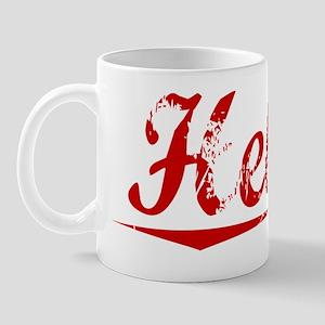 Hebert, Vintage Red Mug