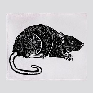 Rat Products Throw Blanket