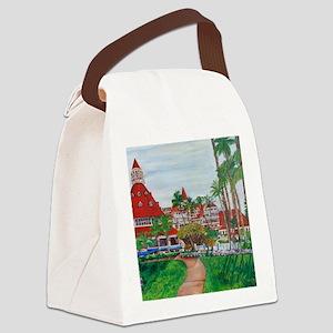 Coronado Hotel Del Canvas Lunch Bag