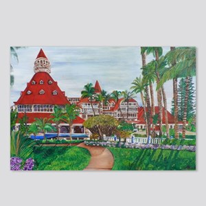 Coronado Hotel Del Postcards (Package of 8)